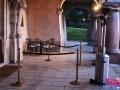 Location parasol chauffant + potelets - Val d'Oise