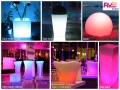 Location Mobilier Lumineux - RVS Event