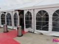 Inauguration K&B - Location parasols chauffants - Île de France