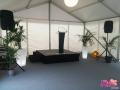Inauguration K&B - Location scène + pupitre + sonorisation - Île de France