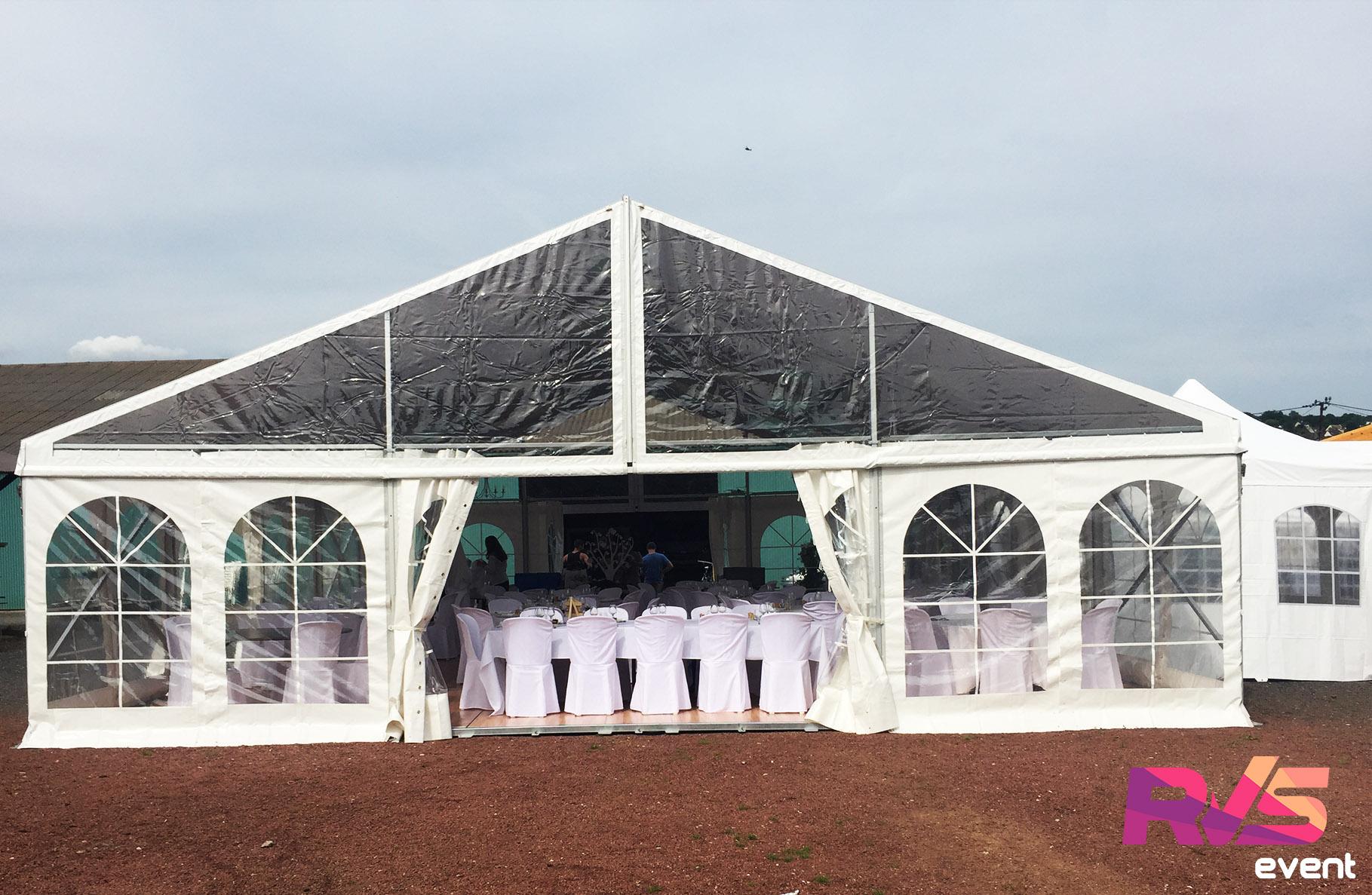 mariage tente de r ception opaque 10x12 rvs event. Black Bedroom Furniture Sets. Home Design Ideas