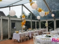 Mariage tente cristal 10x12 - Location chaises Napoléon blanches