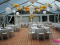 Mariage tente cristal 10x12 - Location tables buffet