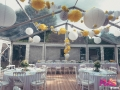 Mariage tente cristal 10x12 - Location tables rondes