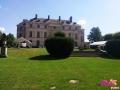 Location tente de réception - Château de Montgobert
