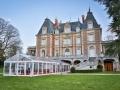 Location tente de réception cristal - Château de Bouffémont