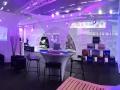Stand - Salon du funéraire - Ile de France - Location Projecteur LED et Mobilier