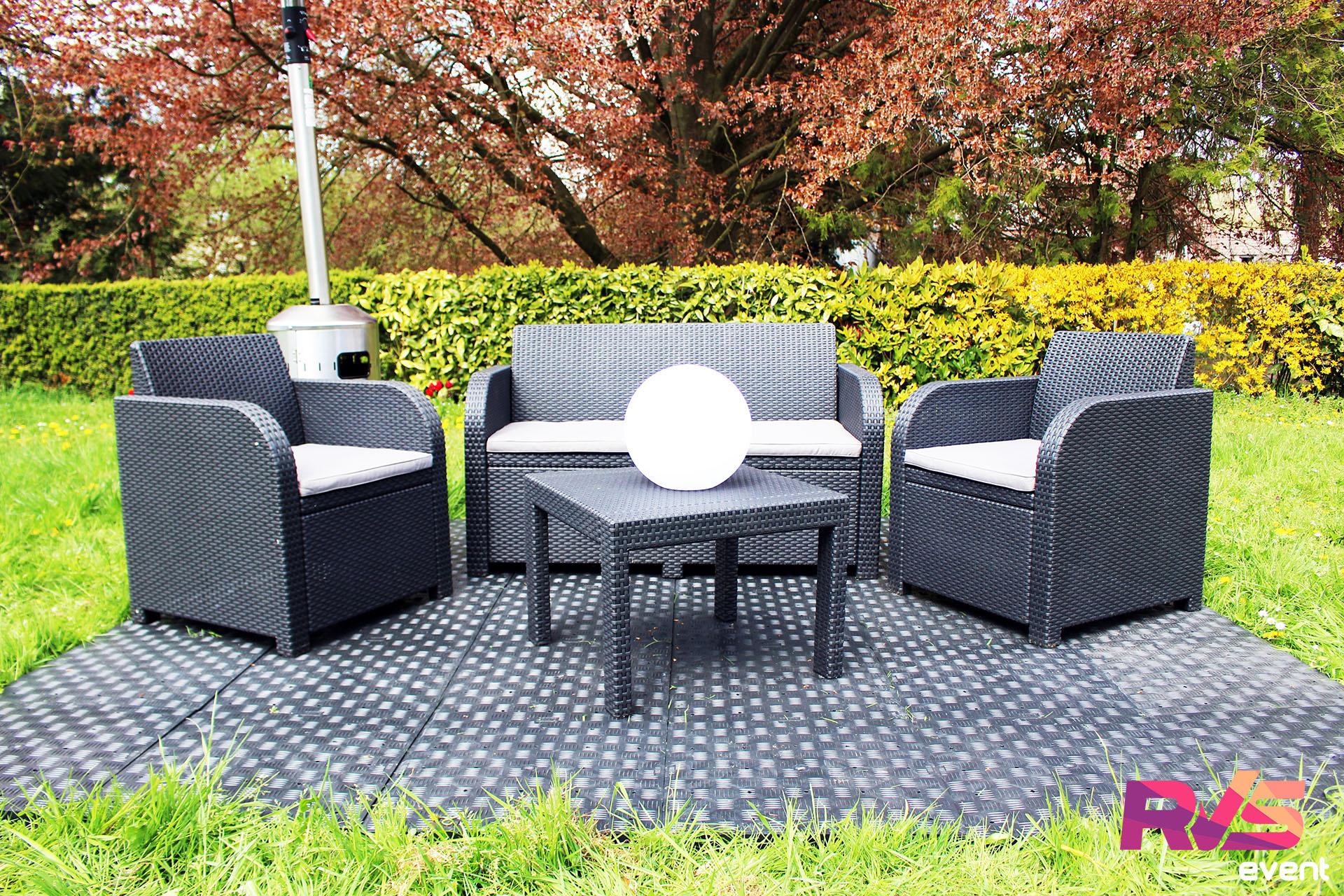 location salons d 39 t tente 3x3 mobilier rvs event. Black Bedroom Furniture Sets. Home Design Ideas