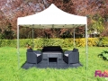 Location tente 3x3 + mobilier de jardin - Ile de France