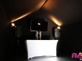 Location table buffet - housse - Val d'Oise