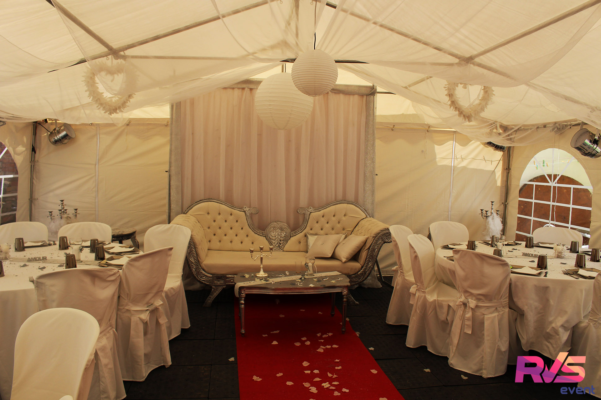 dcoration intrieure mariage - Mariage Barnum