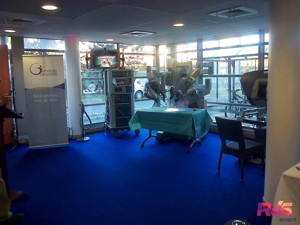 robot moquette rvs event
