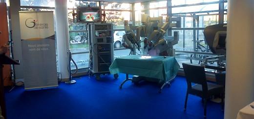 Inauguration d'un robot à l'Hôpital Privé d'Antony