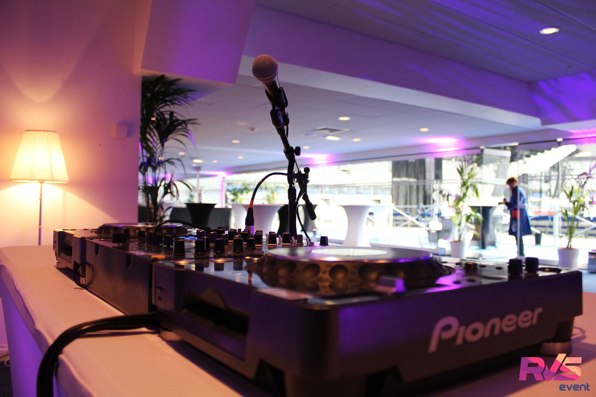 installation DJ salon vip