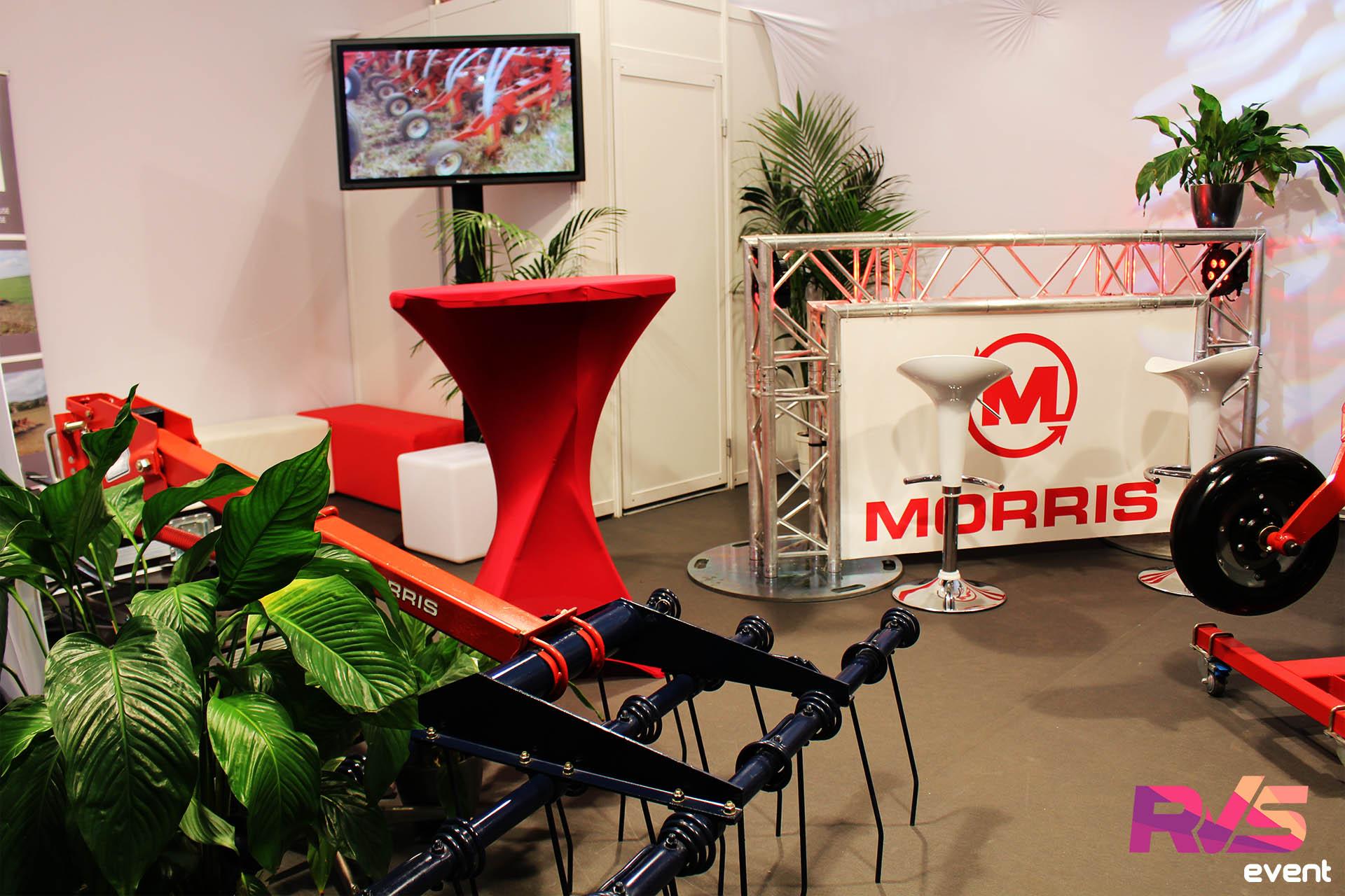 Stand - Salon de l'agriculture - Location Mobilier + Structure alu + Lycra