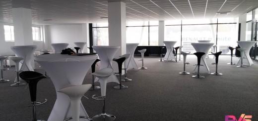 Location mobilier Lounge pour salon VIP