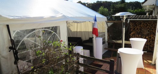 Soirée sous tente de réception - Ile de France