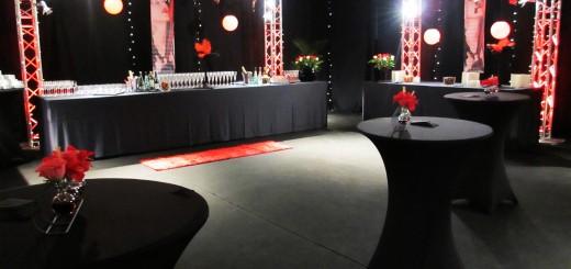 Salon VIP - Concert Madonna - Location mobilier Ile de France