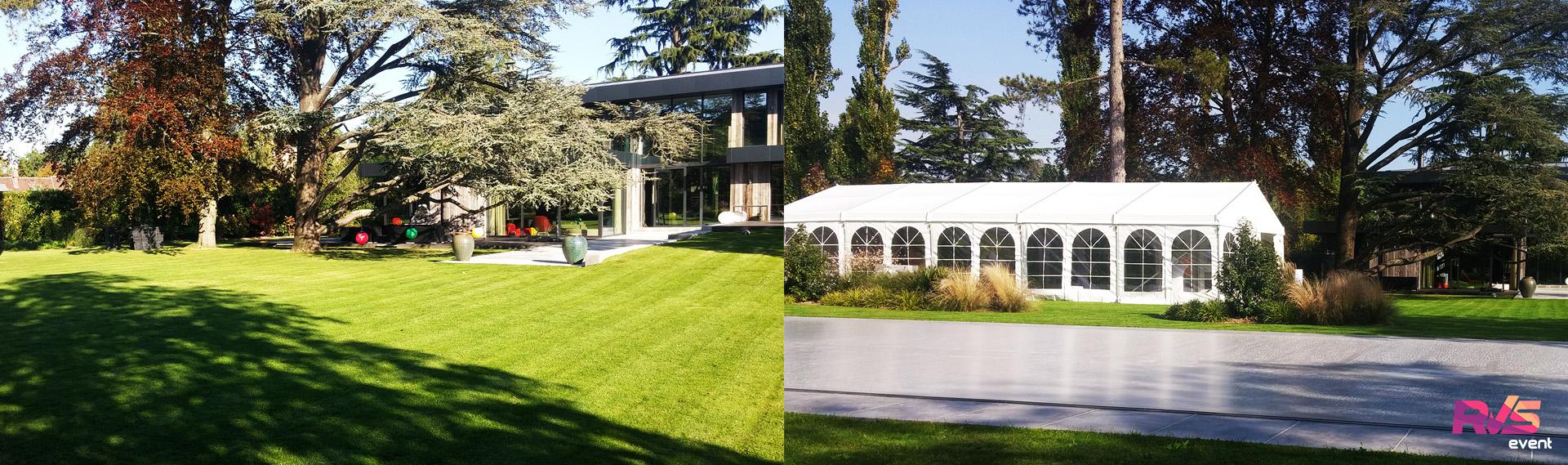 location tente de r ception ev nement dans jardin. Black Bedroom Furniture Sets. Home Design Ideas