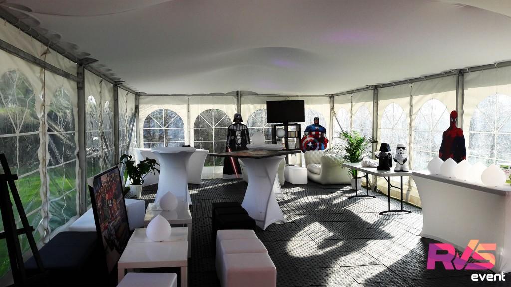 Location mobilier lounge - Ile de France