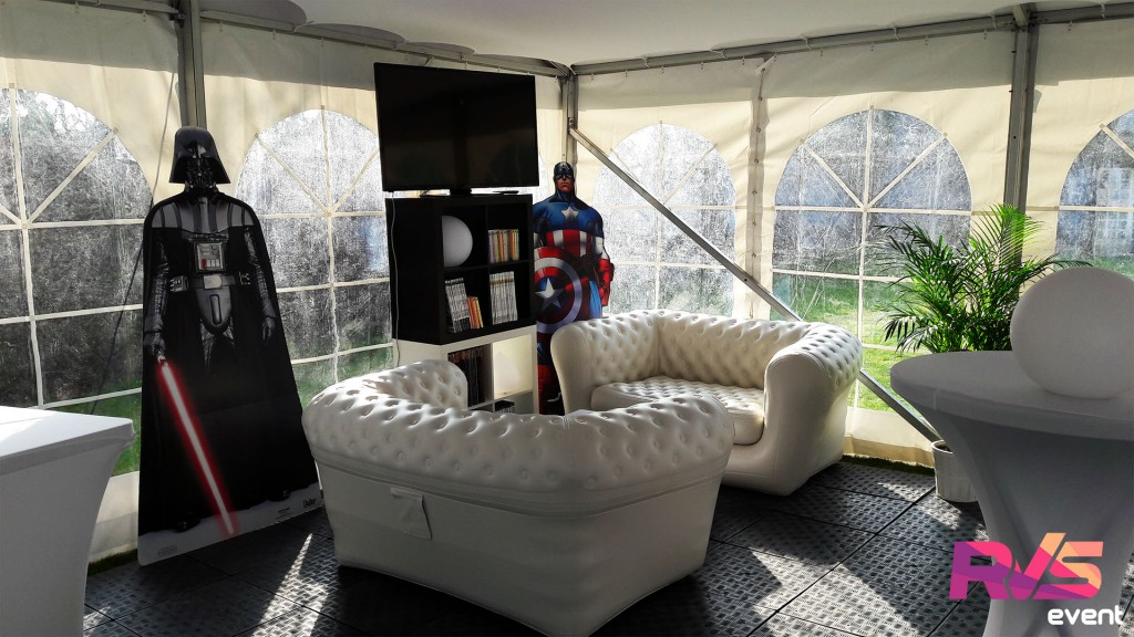 Location Canapé chesterfield - Garches