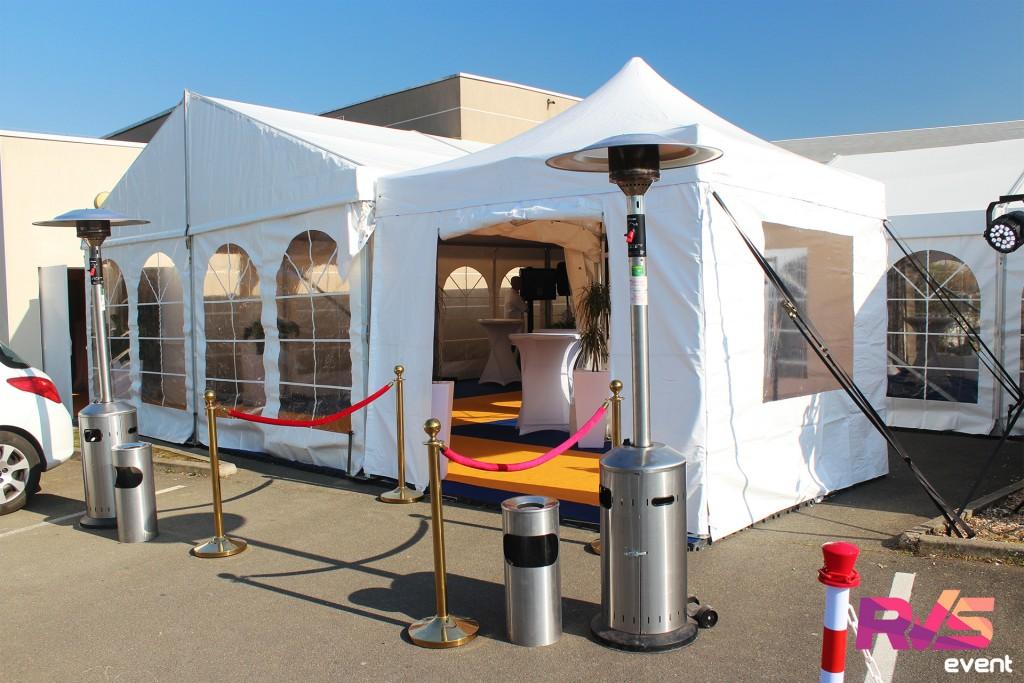 Inauguration Location Tente 3x3 - Osny