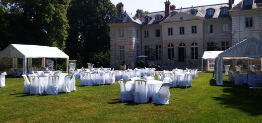 Location Tente de réception - Château d'Eaubonne