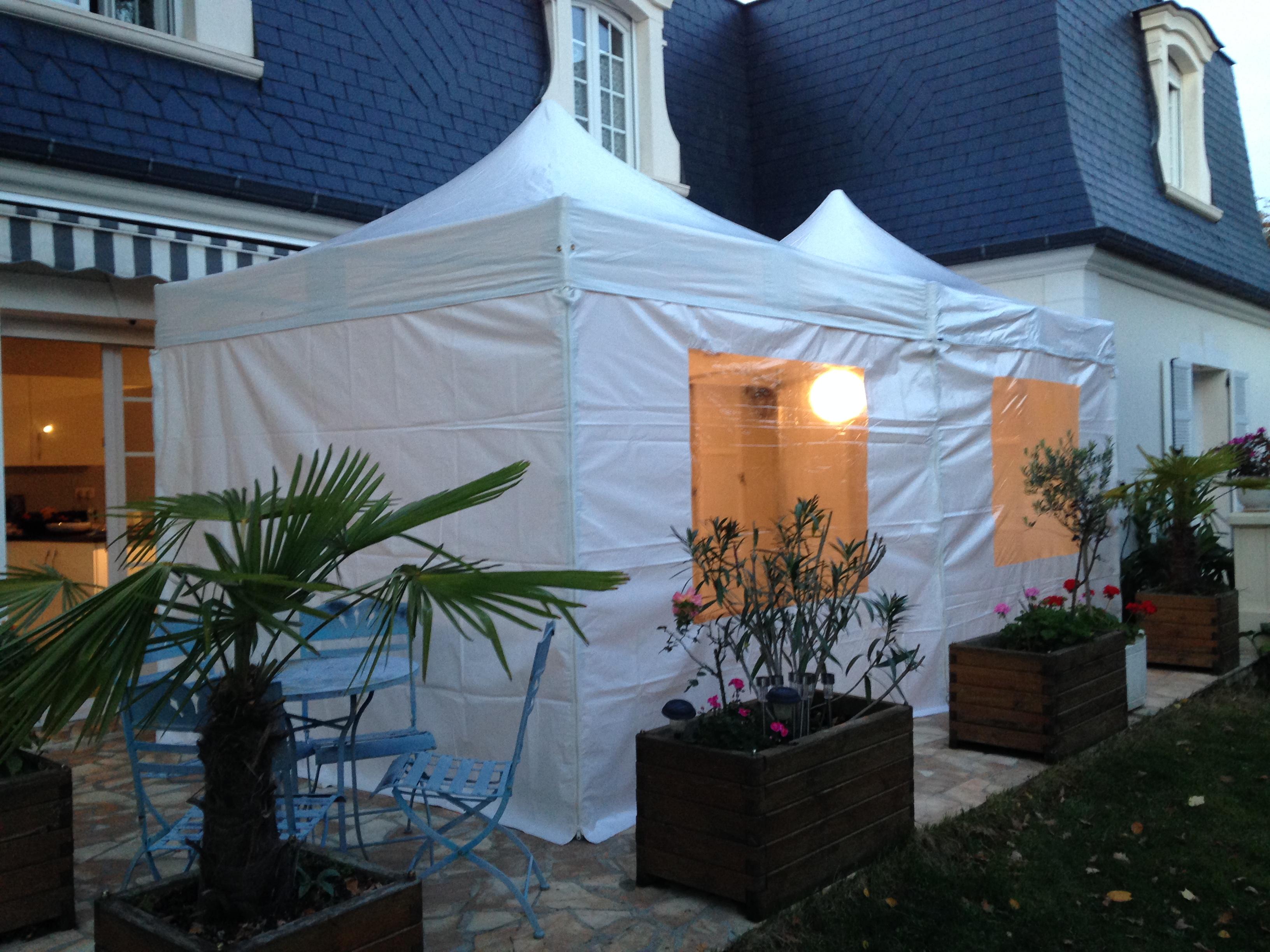 Location de 2 tentes 3x3 - Ile de France