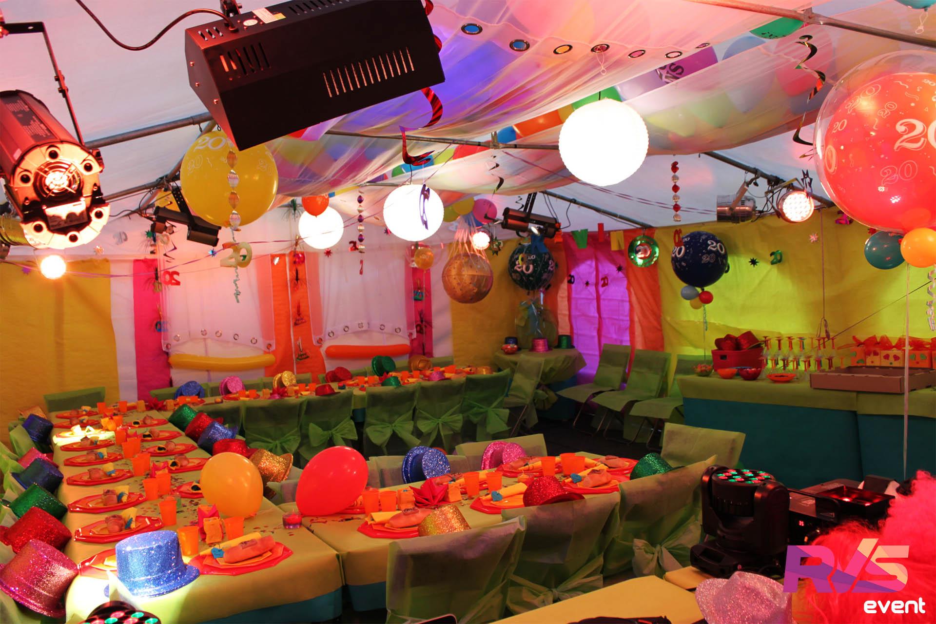 Extraordinaire Location Tente de réception - Anniversaire Disco - RVS Event @XD_51