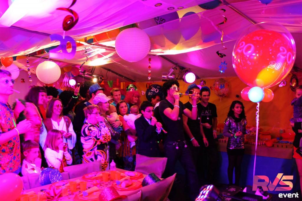 Location Soirée d'anniversaire Disco - RVS Event