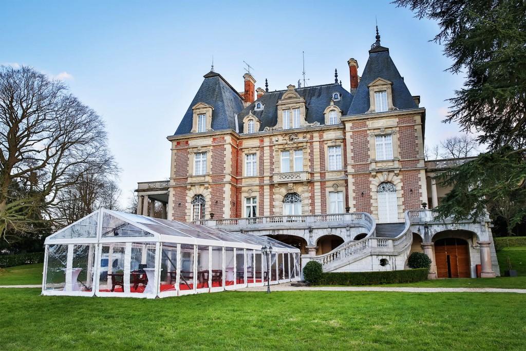 Location Tente de réception cristal - Val d'Oise