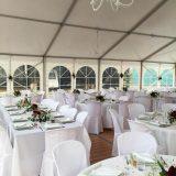 Mariage tente de réception opaque - RVS Event