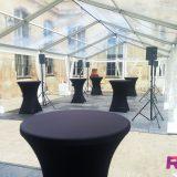Soirée Association - Location tente de réception cristal - Paris