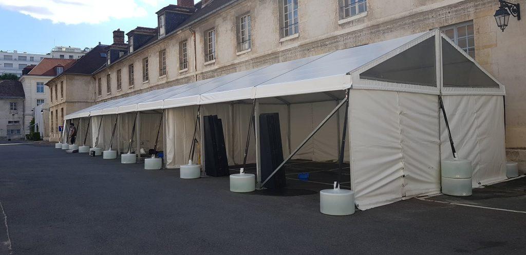 6x30 - Stands École militaire - RVS Event