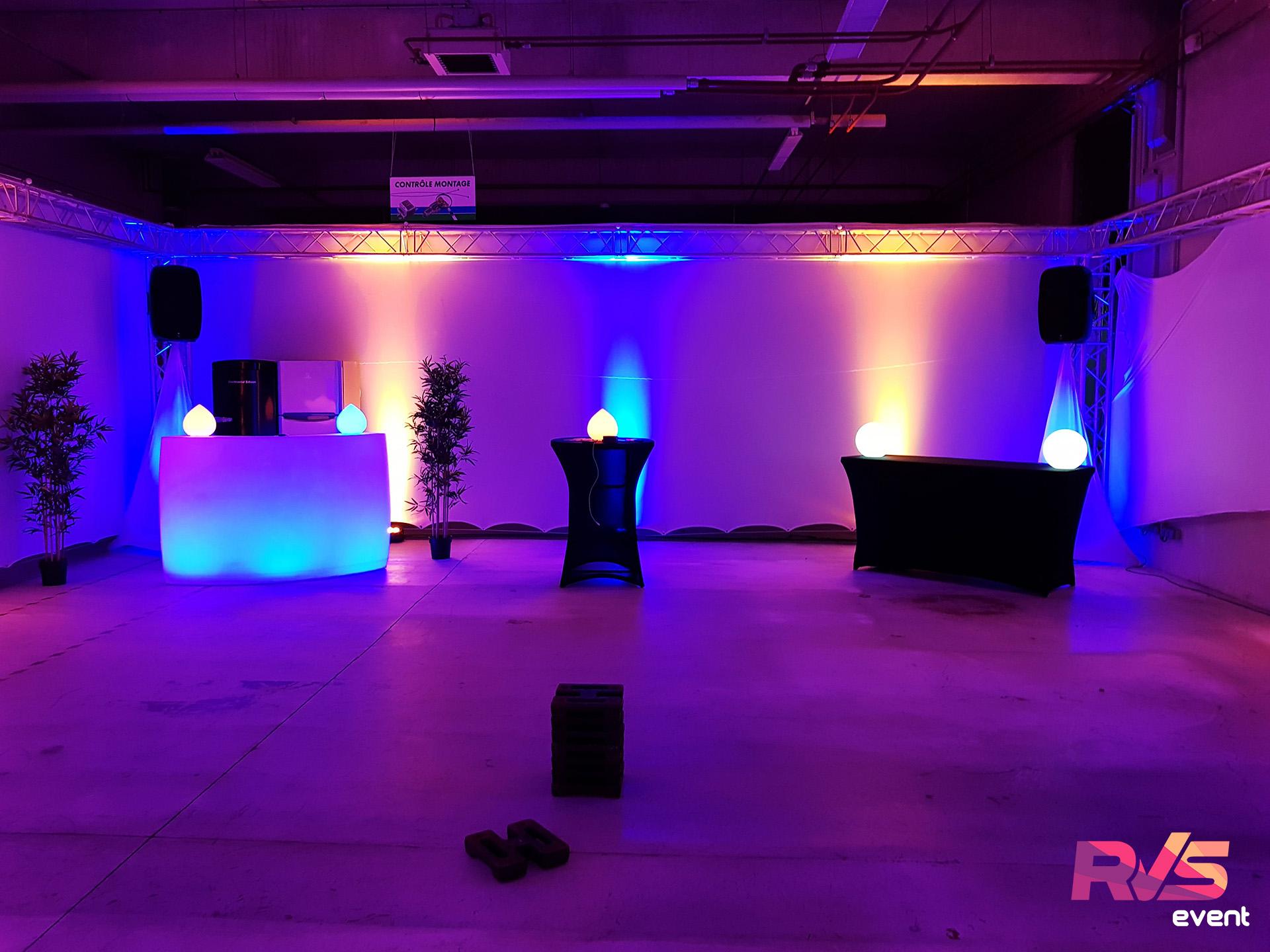 Lumières & sonorisation - RVS Event - 93