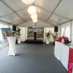 Inauguration K&B - Location Barnum + sol + moquette
